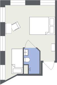 Familjerum 2D Floor Plan FullSize
